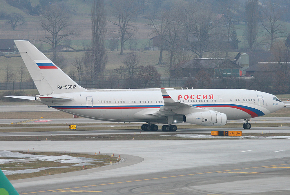IL-96 Russia State Transport Company RA-96012 @  WEF 2009