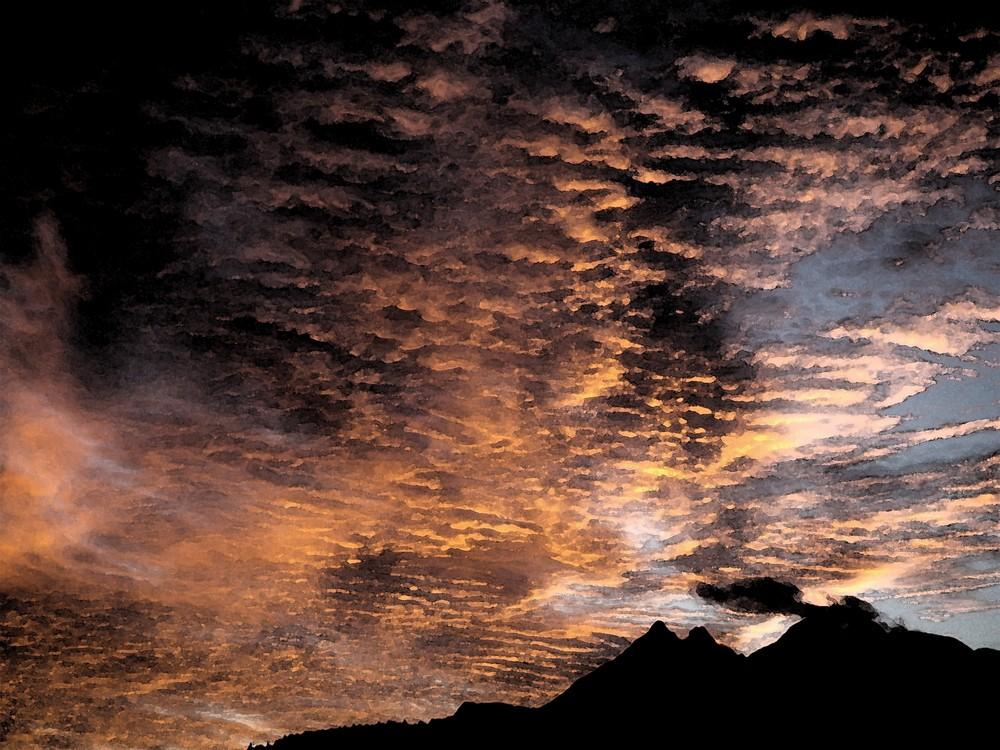 il bel cielo della bregaglia