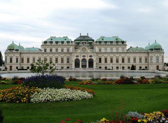 Il Belvedere a Vienna