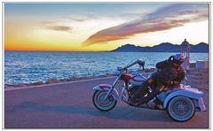 il biker indifferente.....