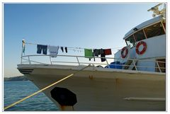 il bucato del capitano....