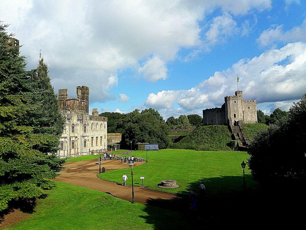 Il castello di Cardiff....