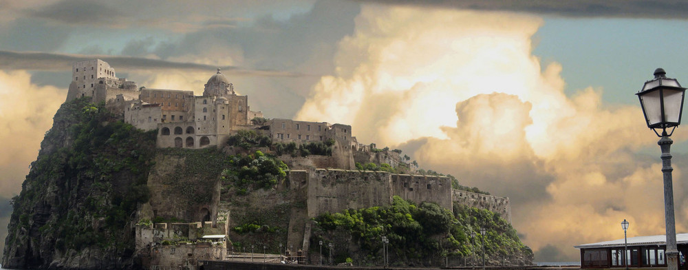 il castello e le nuvole
