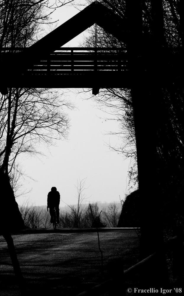 Il Ciclista e Il Ponte
