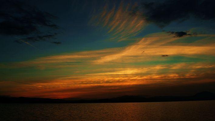 il cielo come un quadro..