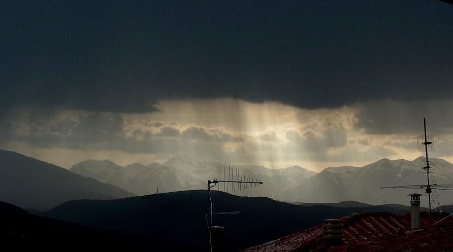 Il cielo sopra L'Aquila 6/4/2009