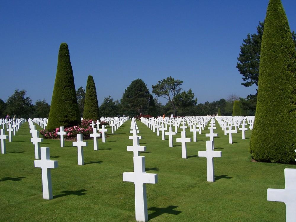 Il cimitero americano in Normandia