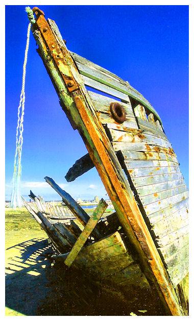 Il cimitero delle barche Camaret Bretagna