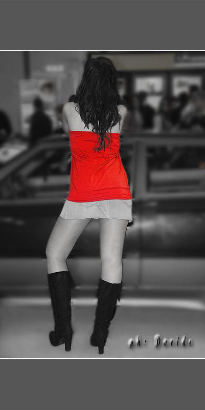 il colore rosso al Photoshow Roma 2008