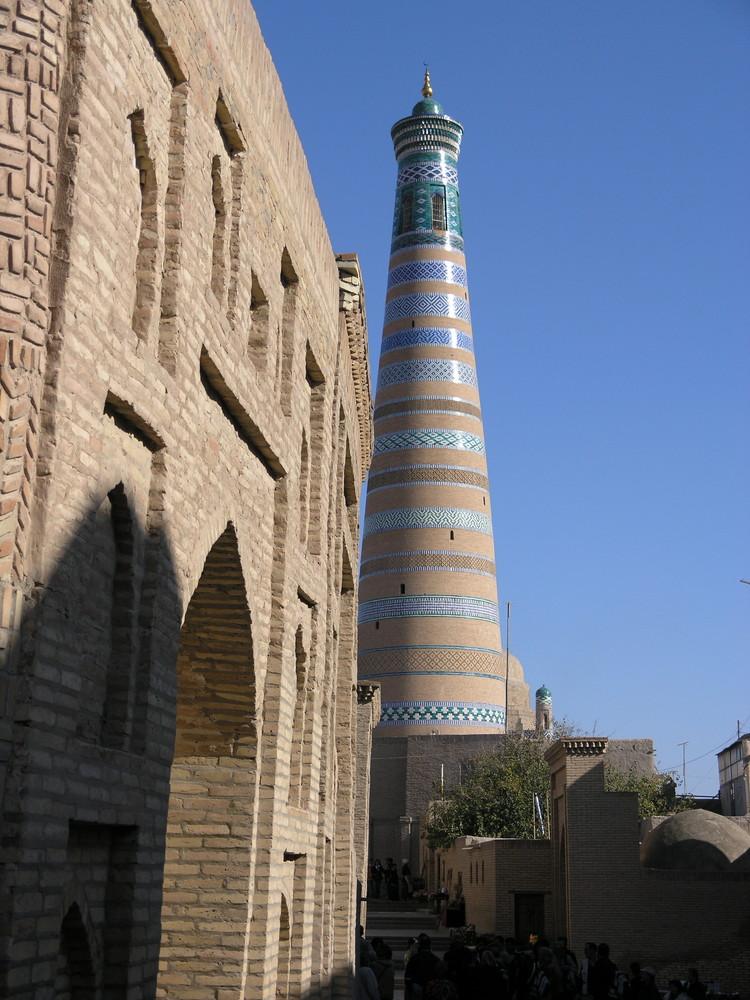 """Il """"faro"""" di Khiva"""