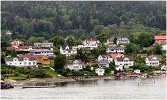Il fiordo di Oslo.