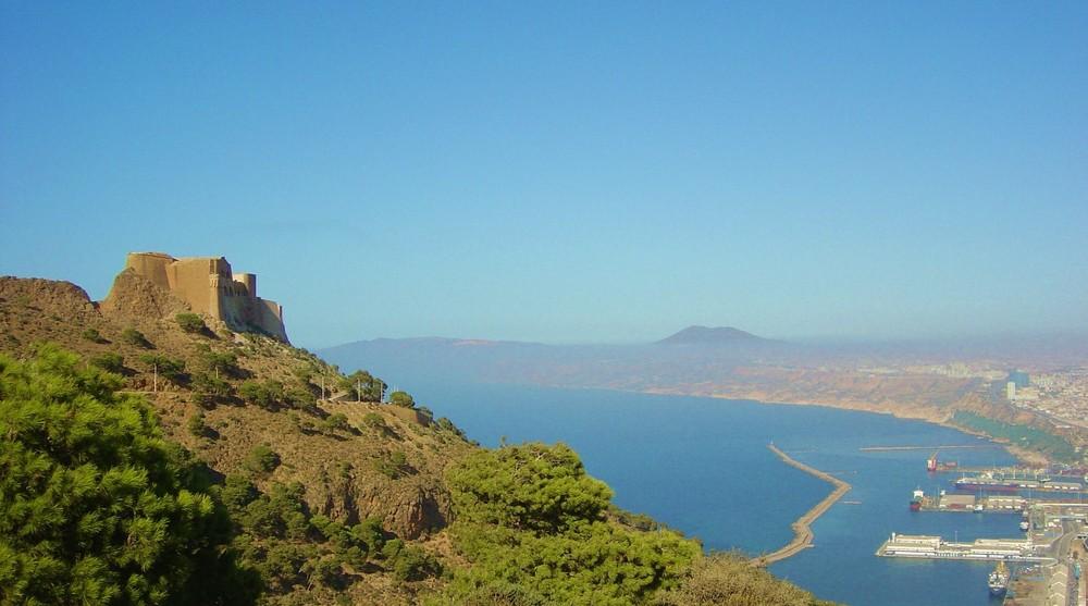 Il Forte di Santa Cruz.