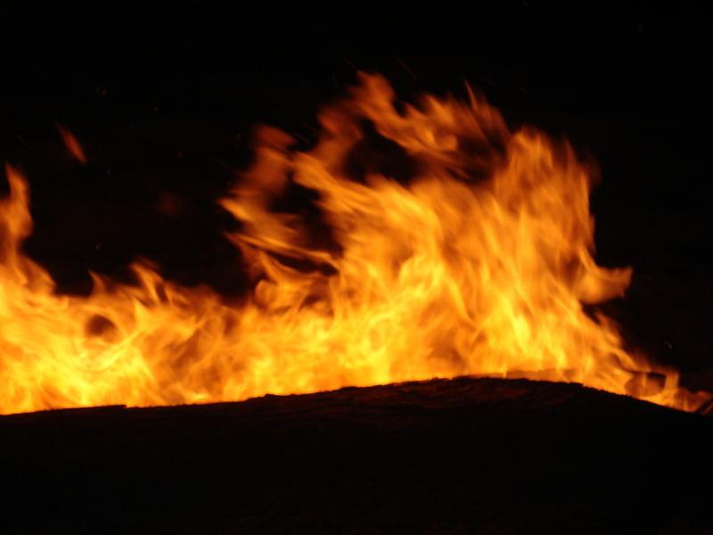 Il fuoco dentro...