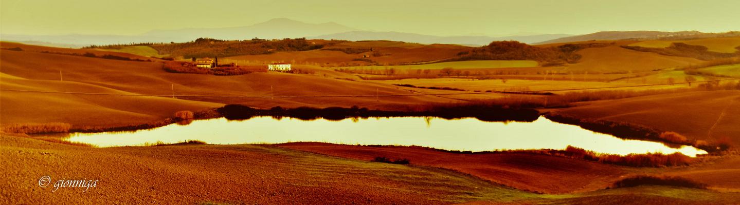 Il laghetto di campagna