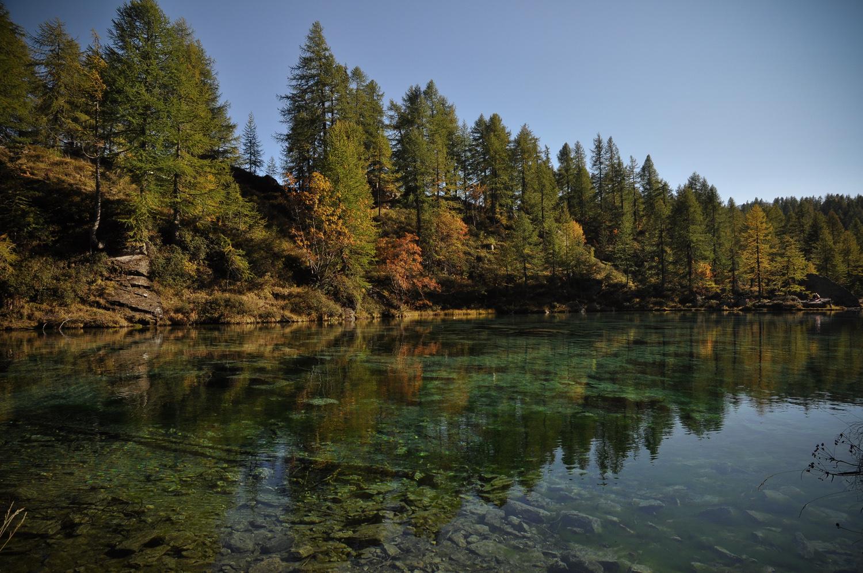 Il Lago Azzurro o più comunemente chiamato delle Streghe