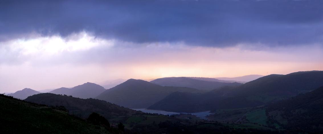 il Lago Lerno a Pattada