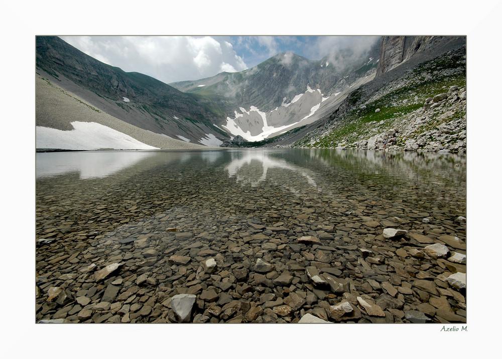 Il lago maledetto...