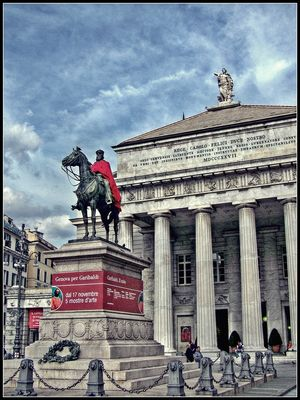 Il mantello di Garibaldi
