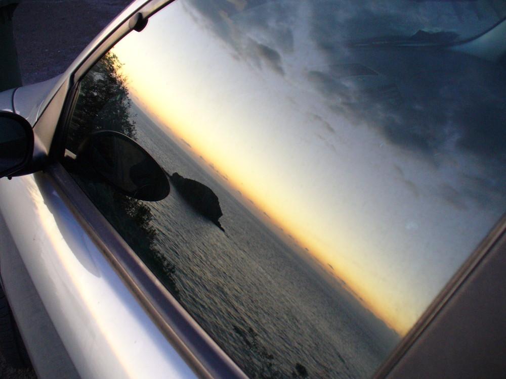 Il mare in auto