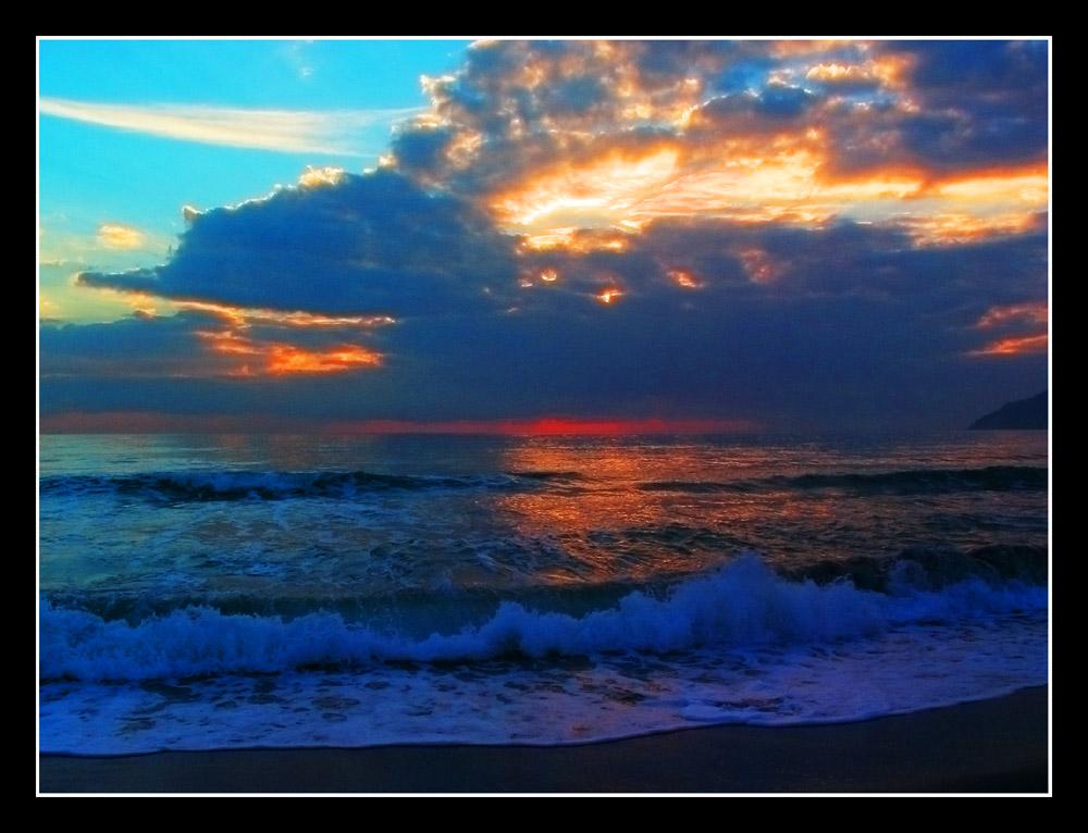 il mare un pomeriggio d'inverno....