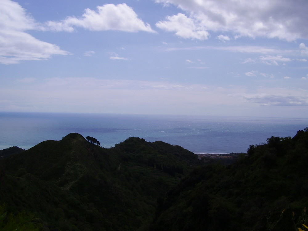 Il mare visto da Savoca (ME)