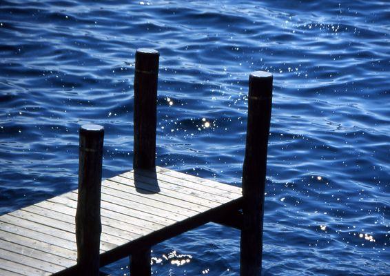 Il molo sul lago