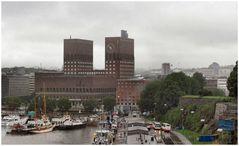 Il Municipio di Oslo. Oslo Rathaus.