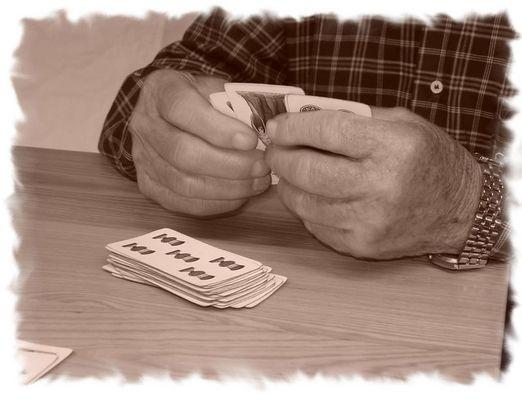 Il passatempo del nonno...