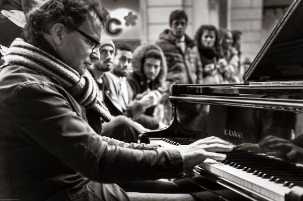 Il Pianista fuori posto