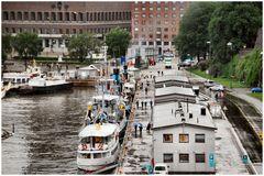 Il piccolo porto di Oslo.