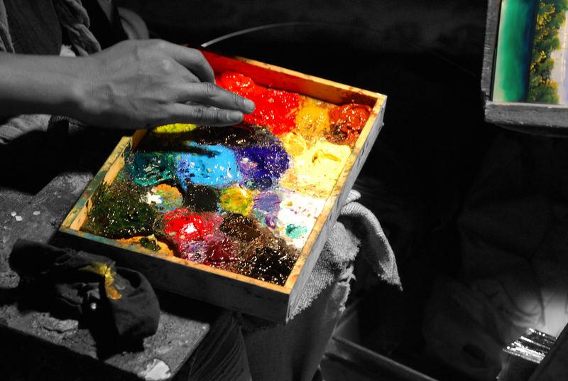 Il pittore del mondo
