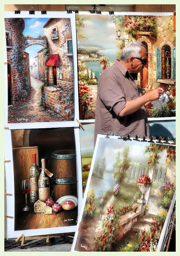 Il pittore di Piazza Navona