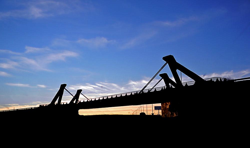 Il Ponte al Tramonto