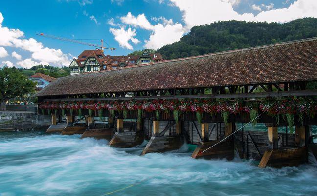 Il ponte più bello di tutta Thun