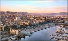 Il Porto di Barcelona 1970