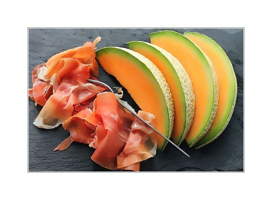 Il prosciutto e melone