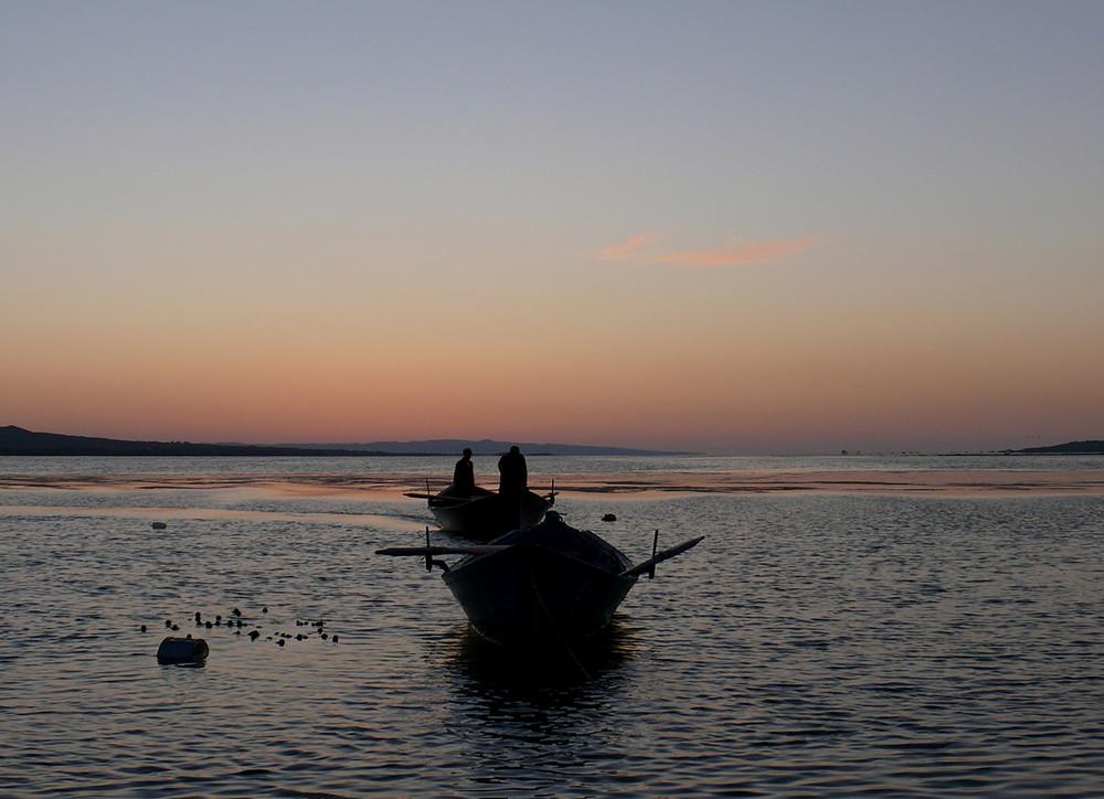 Il rientro dei pescatori