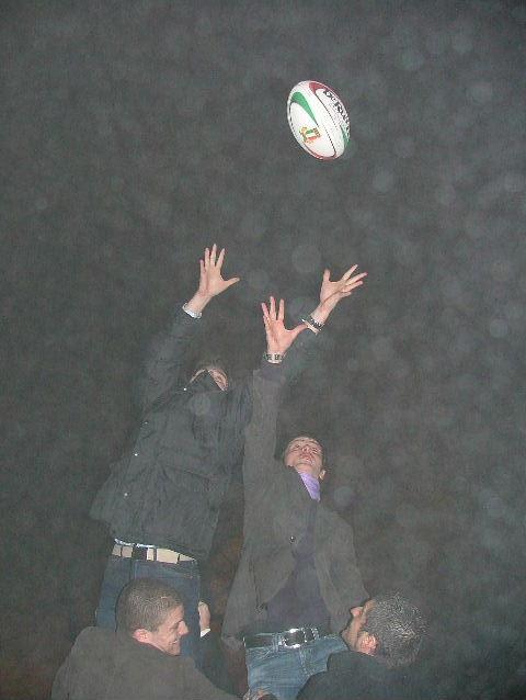 il rugby dentro e fuori dal campo...