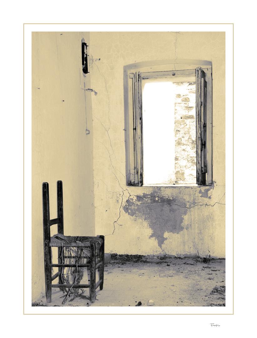 il silenzio dei luoghi - la finestra
