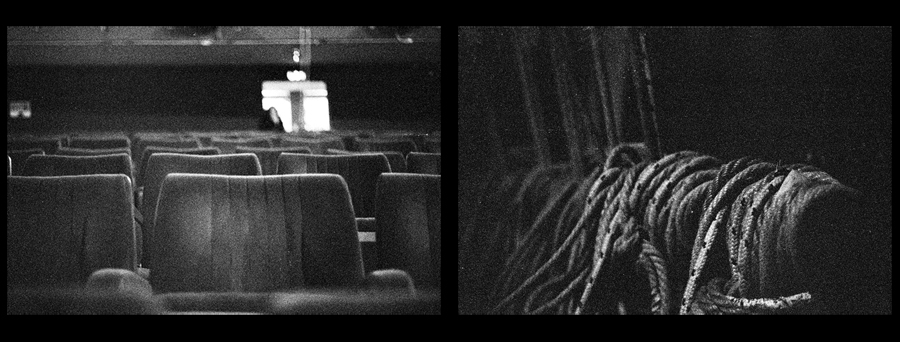il silenzio nel teatro