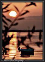 Il sole al tramonto