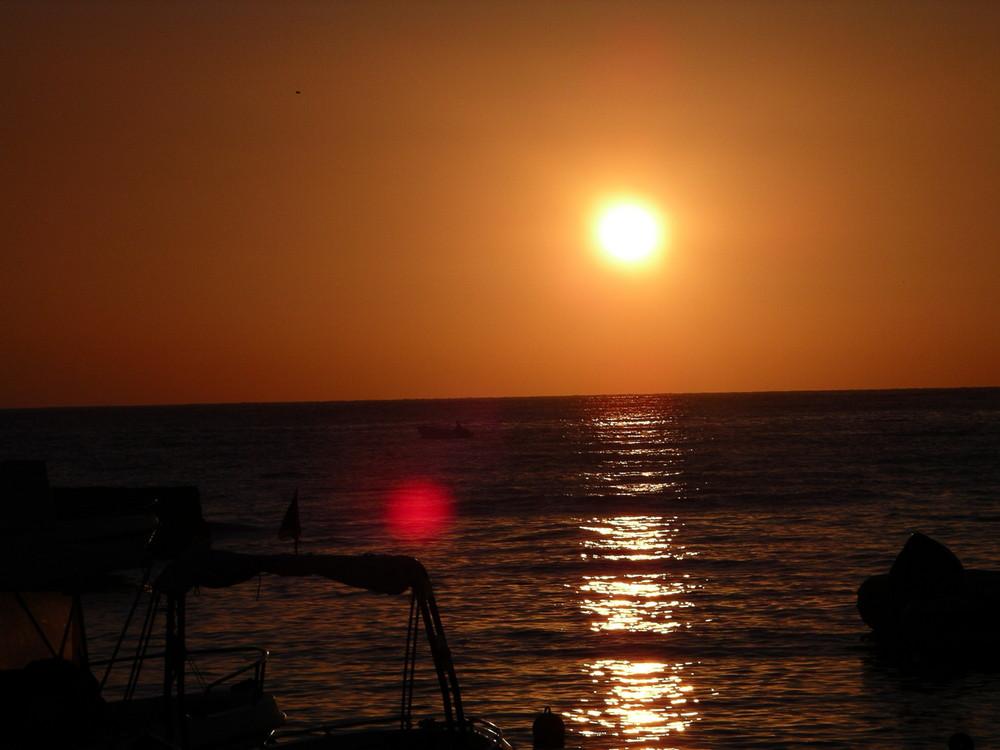 il sole è già alto