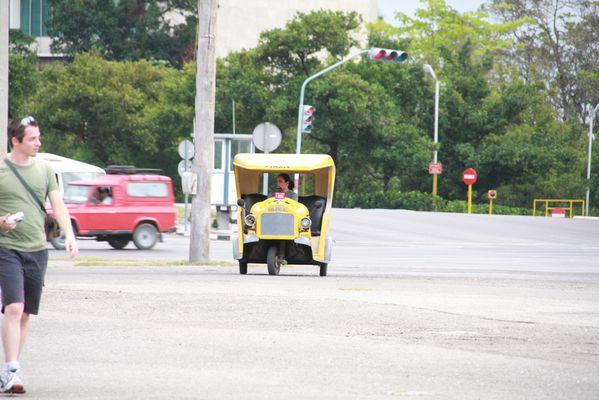 il taxi a cuba