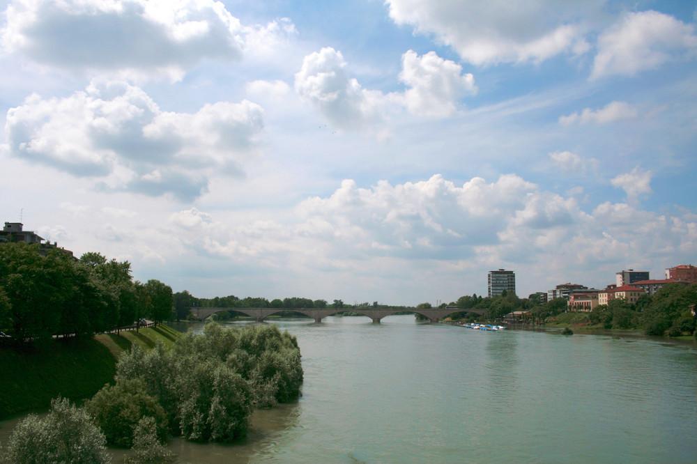 il Ticino e il Ponte dell'Impero (2)
