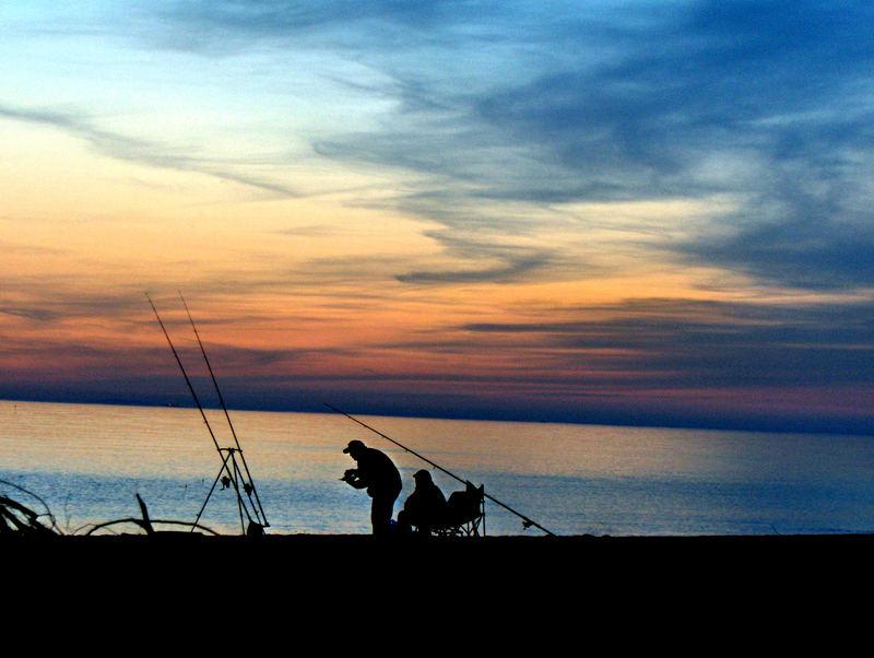 Il tramonto del pescatore