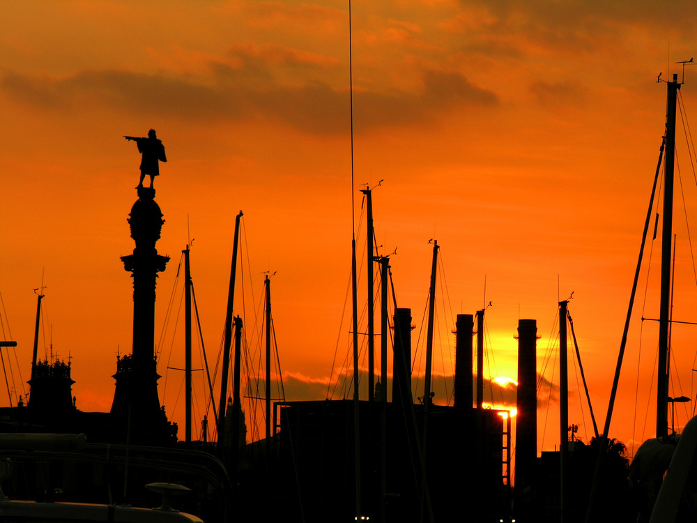 Il tramonto di Colombo