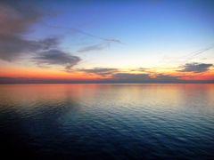 Il tramonto e le nuvole