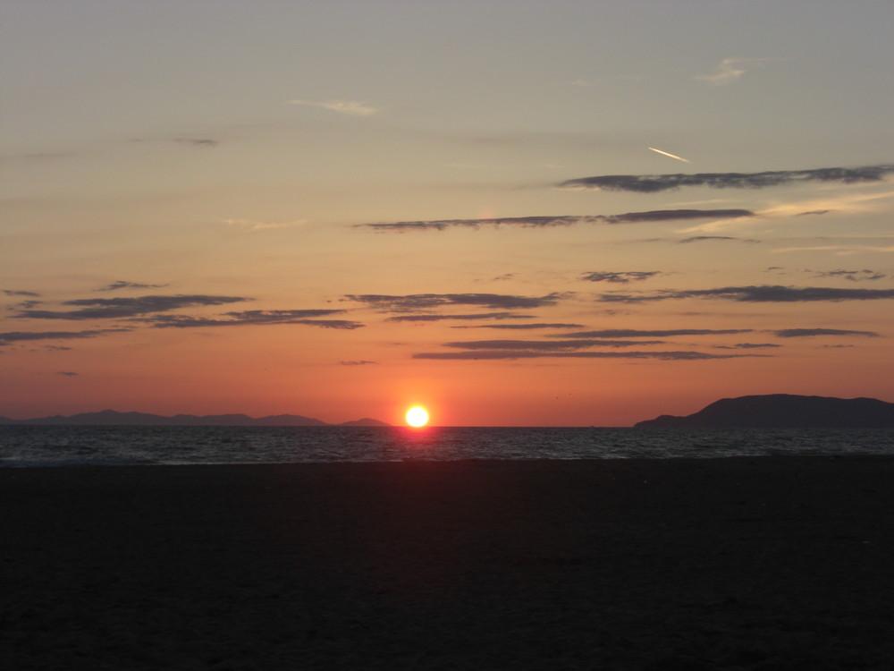 Il tramonto più bello che io abbia mai visto