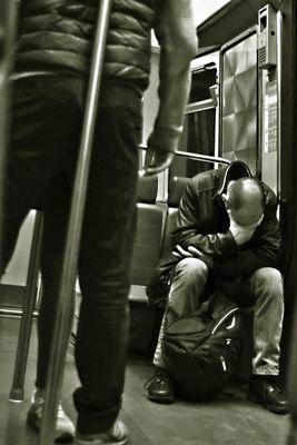 Il ventre di Parigi - 11 Uomo che dorme