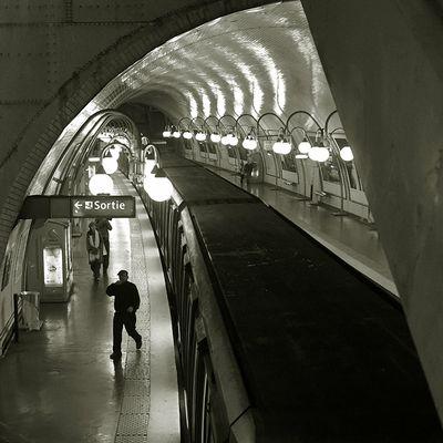 Il ventre di Parigi - 5 Riflessi nel tunnel